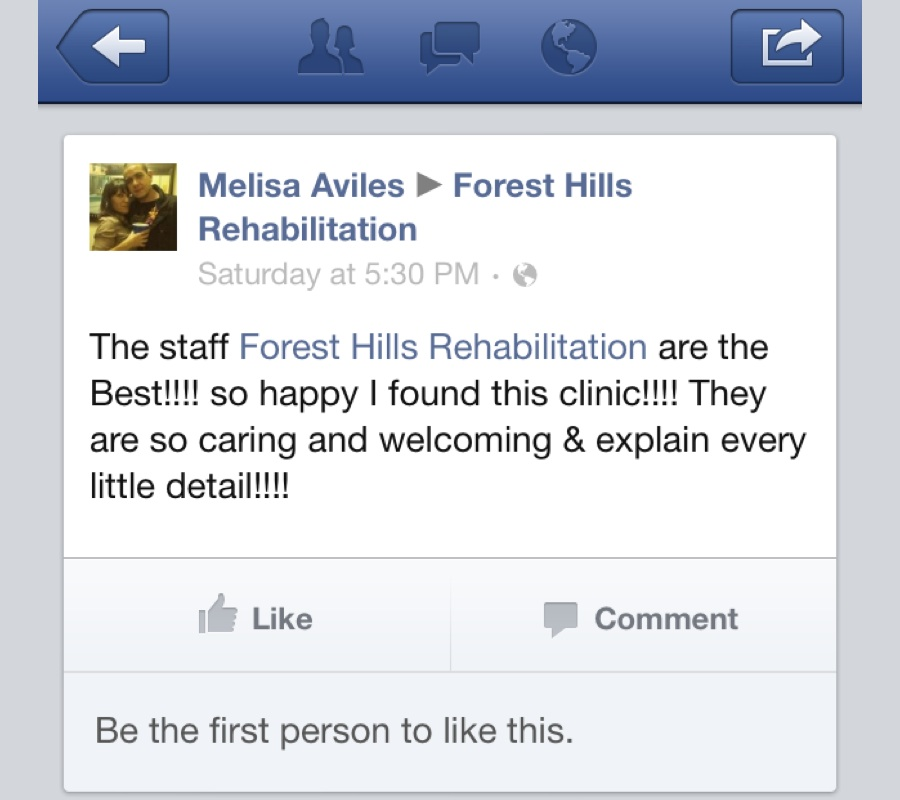 reviews, forest hills rehab review